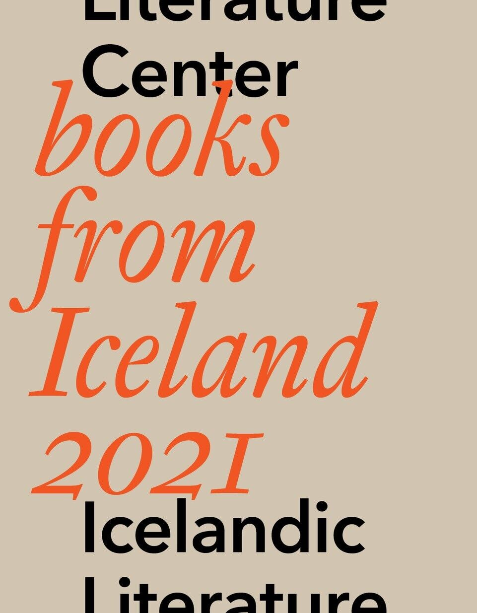Books from Iceland 2021